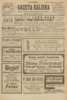 Gazeta Kaliska : pismo codzienne, polityczne, społeczne i ekonomiczne. R.31, № 199 (4 września 1923) = nr 7534