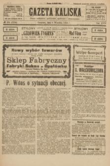 Gazeta Kaliska : pismo codzienne, polityczne, społeczne i ekonomiczne. R.31, № 201 (6 września 1923) = nr 7536