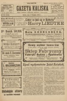 Gazeta Kaliska : pismo codzienne, polityczne, społeczne i ekonomiczne. R.31, № 203 (8 września 1923) = nr 7538