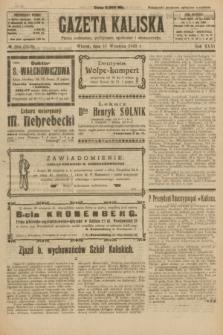 Gazeta Kaliska : pismo codzienne, polityczne, społeczne i ekonomiczne. R.31, № 204 (11 września 1923) = nr 7539