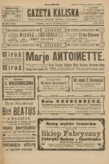 Gazeta Kaliska : pismo codzienne, polityczne, społeczne i ekonomiczne. R.31, № 209 (16 września 1923) = nr 7544