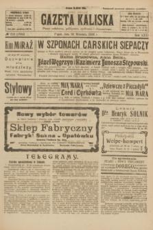 Gazeta Kaliska : pismo codzienne, polityczne, społeczne i ekonomiczne. R.31, № 219 (28 września 1923) = nr 7554