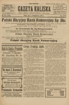 Gazeta Kaliska : pismo codzienne, polityczne, społeczne i ekonomiczne. R.31, № 223 (3 października 1923) = nr 7558
