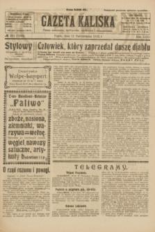 Gazeta Kaliska : pismo codzienne, polityczne, społeczne i ekonomiczne. R.31, № 231 (12 października 1923) = nr 7566