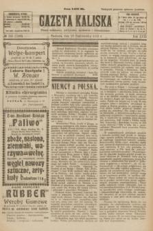 Gazeta Kaliska : pismo codzienne, polityczne, społeczne i ekonomiczne. R.31, № 245 (28 października 1923) = nr 7580