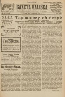 Gazeta Kaliska : pismo codzienne, polityczne, społeczne i ekonomiczne. R.31, № 251 (6 listopada 1923) = nr 7586