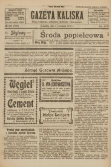 Gazeta Kaliska : pismo codzienne, polityczne, społeczne i ekonomiczne. R.31, № 253 (8 listopada 1923) = nr 7588
