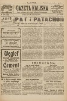 Gazeta Kaliska : pismo codzienne, polityczne, społeczne i ekonomiczne. R.31, № 258 (14 listopada 1923) = nr 7593