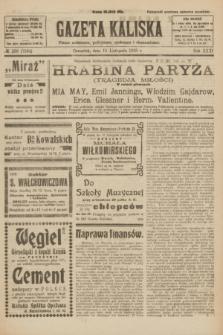 Gazeta Kaliska : pismo codzienne, polityczne, społeczne i ekonomiczne. R.31, № 259 (15 listopada 1923) = nr 7594