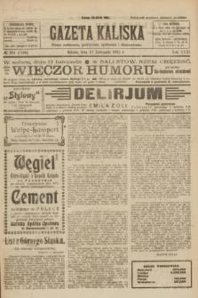 Gazeta Kaliska : pismo codzienne, polityczne, społeczne i ekonomiczne. R.31, № 261 (17 listopada 1923) = nr 7596