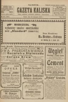 Gazeta Kaliska : pismo codzienne, polityczne, społeczne i ekonomiczne. R.31, № 266 (23 listopada 1923) = nr 7601