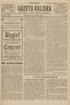 Gazeta Kaliska : pismo codzienne, polityczne, społeczne i ekonomiczne. R.31, № 267 (24 listopada 1923) = nr 7602