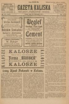 Gazeta Kaliska : pismo codzienne, polityczne, społeczne i ekonomiczne. R.31, № 272 (30 listopada 1923) = nr 7607
