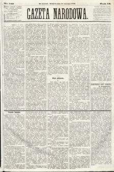 Gazeta Narodowa. 1870, nr148