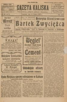 Gazeta Kaliska : pismo codzienne, polityczne, społeczne i ekonomiczne. R.31, № 282 (13 grudnia 1923) = nr 7617