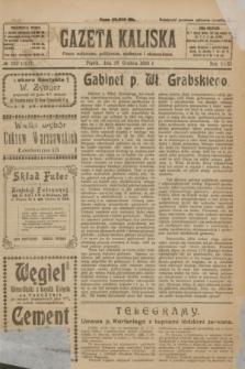 Gazeta Kaliska : pismo codzienne, polityczne, społeczne i ekonomiczne. R.31, № 292 (28 grudnia 1923) = nr 7627