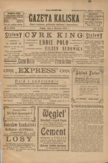 Gazeta Kaliska : pismo codzienne, polityczne, społeczne i ekonomiczne. R.32, № 3 (4 stycznia 1924) = nr 7632