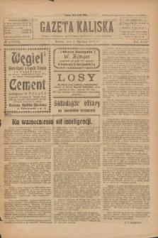 Gazeta Kaliska : pismo codzienne, polityczne, społeczne i ekonomiczne. R.32, № 4 (5 stycznia 1924) = nr 7633