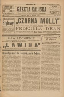 Gazeta Kaliska : pismo codzienne, polityczne, społeczne i ekonomiczne. R.32, № 8 (10 stycznia 1924) = nr 7637