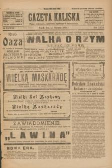 Gazeta Kaliska : pismo codzienne, polityczne, społeczne i ekonomiczne. R.32, № 9 (11 stycznia 1924) = nr 7638