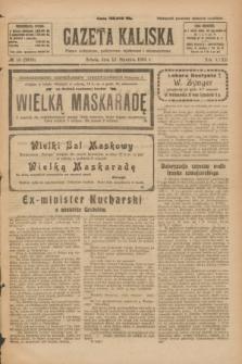 Gazeta Kaliska : pismo codzienne, polityczne, społeczne i ekonomiczne. R.32, № 10 (12 stycznia 1924) = nr 7639