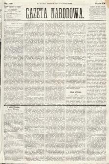 Gazeta Narodowa. 1870, nr156
