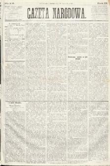 Gazeta Narodowa. 1870, nr158