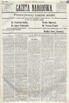 Gazeta Narodowa. 1870, nr166