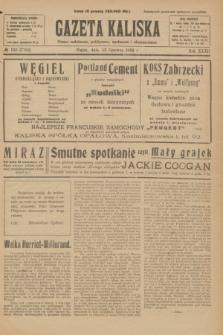 Gazeta Kaliska : pismo codzienne, polityczne, społeczne i ekonomiczne. R.32, № 132 (13 czerwca 1924) = nr 7762