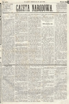 Gazeta Narodowa. 1870, nr170