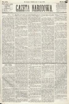 Gazeta Narodowa. 1870, nr176
