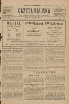 Gazeta Kaliska : pismo codzienne, polityczne, społeczne i ekonomiczne. R.32, № 169 (26 lipca 1924) = nr 7799