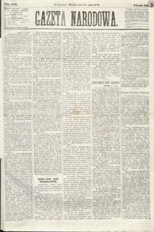 Gazeta Narodowa. 1870, nr177