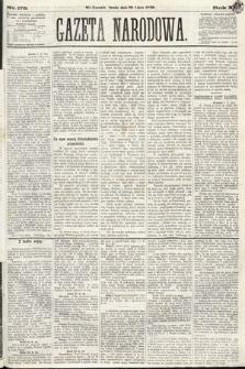 Gazeta Narodowa. 1870, nr178