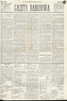 Gazeta Narodowa. 1870, nr181