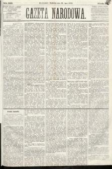 Gazeta Narodowa. 1870, nr182
