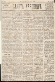 Gazeta Narodowa. 1870, nr184