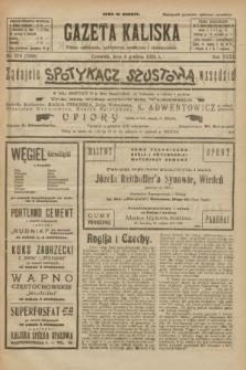 Gazeta Kaliska : pismo codzienne, polityczne, społeczne i ekonomiczne. R.32, nr 278 (4 grudnia 1924) = nr 7908