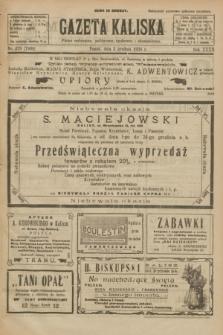 Gazeta Kaliska : pismo codzienne, polityczne, społeczne i ekonomiczne. R.32, nr 279 (5 grudnia 1924) = nr 7909