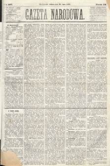 Gazeta Narodowa. 1870, nr187
