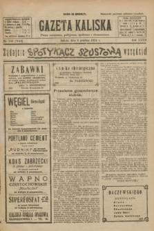 Gazeta Kaliska : pismo codzienne, polityczne, społeczne i ekonomiczne. R.32, nr 280 (6 grudnia 1924) = nr 7910