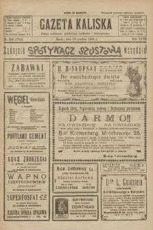 Gazeta Kaliska : pismo codzienne, polityczne, społeczne i ekonomiczne. R.32, nr 282 (10 grudnia 1924) = nr 7912