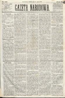 Gazeta Narodowa. 1870, nr188