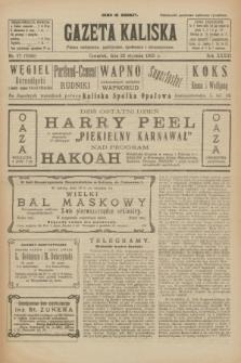 Gazeta Kaliska : pismo codzienne, polityczne, społeczne i ekonomiczne. R.33, nr 17 (22 stycznia 1925) = nr 7945