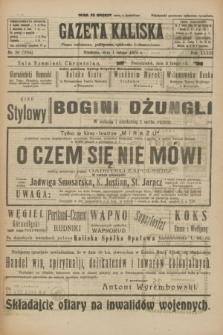 Gazeta Kaliska : pismo codzienne, polityczne, społeczne i ekonomiczne. R.33, nr 26 (1 lutego 1925) = nr 7954