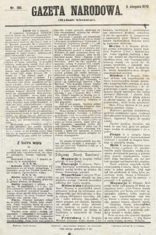 Gazeta Narodowa (wydanie wieczorne). 1870, nr190