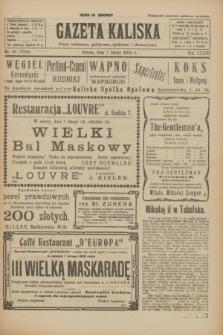 Gazeta Kaliska : pismo codzienne, polityczne, społeczne i ekonomiczne. R.33, nr 30 (7 lutego 1925) = nr 7959