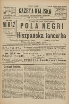 Gazeta Kaliska : pismo codzienne, polityczne, społeczne i ekonomiczne. R.33, nr 35 (13 lutego 1925) = nr 7964