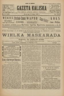 Gazeta Kaliska : pismo codzienne, polityczne, społeczne i ekonomiczne. R.33, nr 39 (18 lutego 1925) = nr 7968