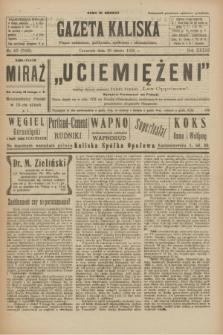 Gazeta Kaliska : pismo codzienne, polityczne, społeczne i ekonomiczne. R.33, nr 40 (19 lutego 1925) = nr 7969